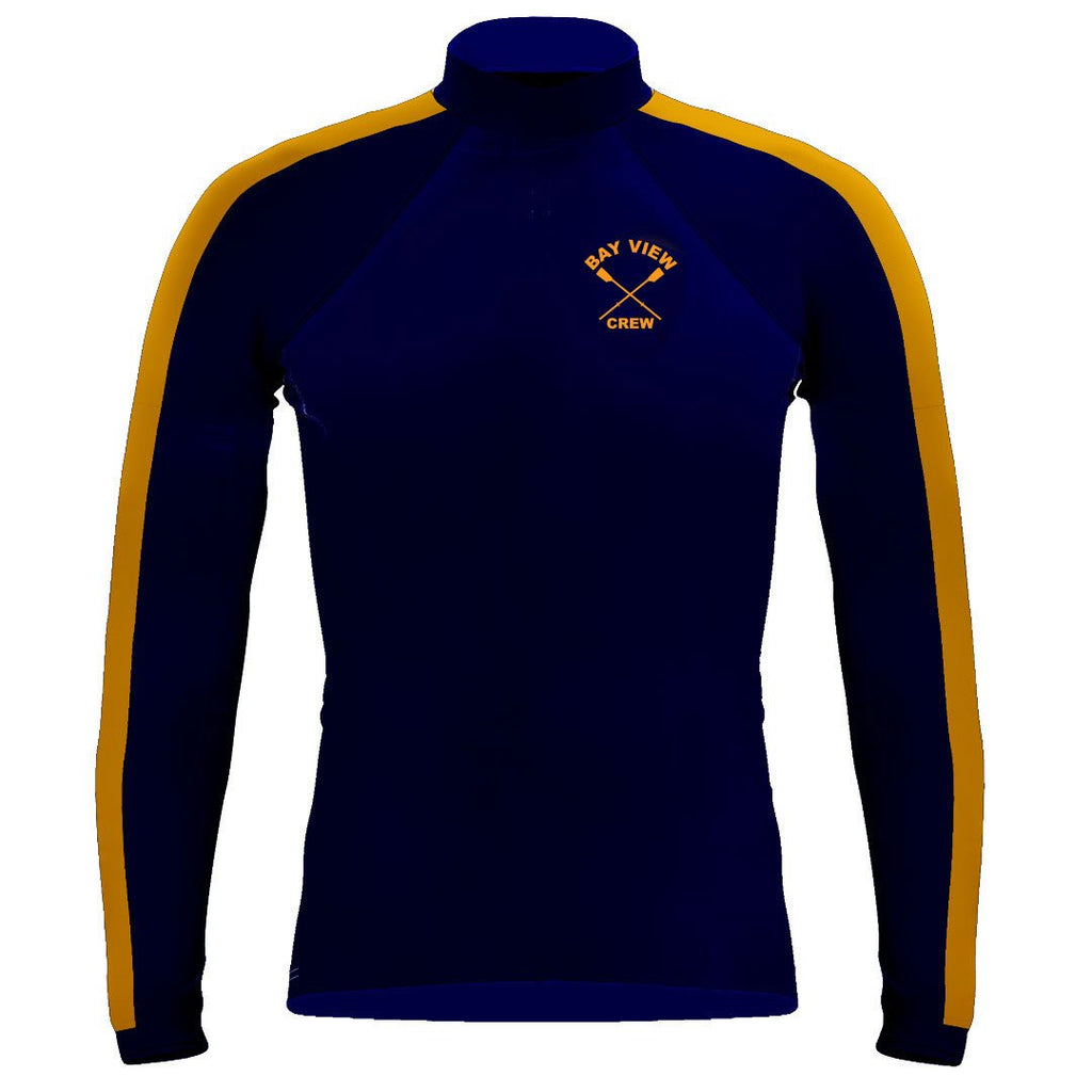 Long Sleeve Bay View Crew Warm-Up Shirt