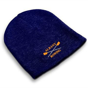 Straight Knit Albany Rowing Center Beanie