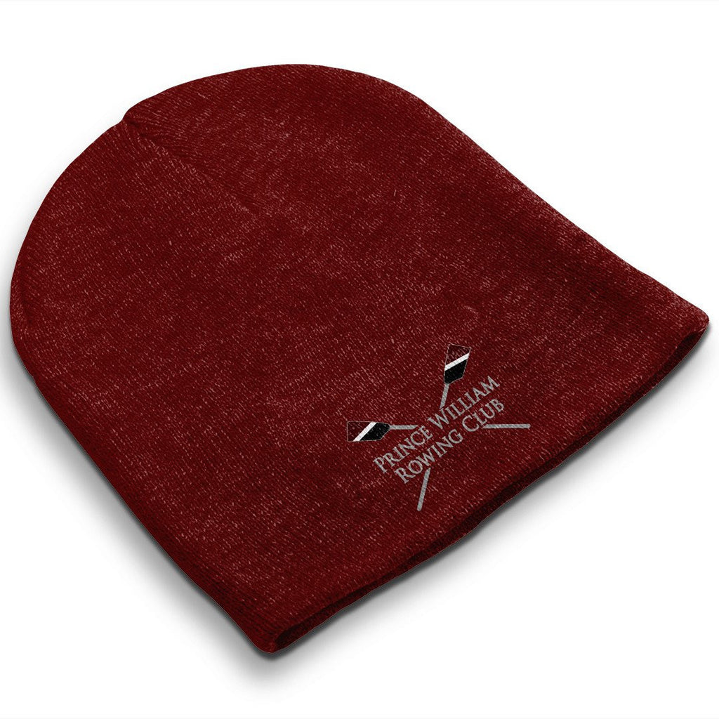 Straight Knit Prince William Rowing Club Beanie
