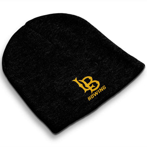Straight Knit Long Beach Rowing Beanie