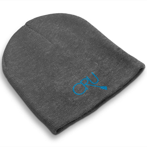 Straight Knit Chicago Rowing Union Beanie