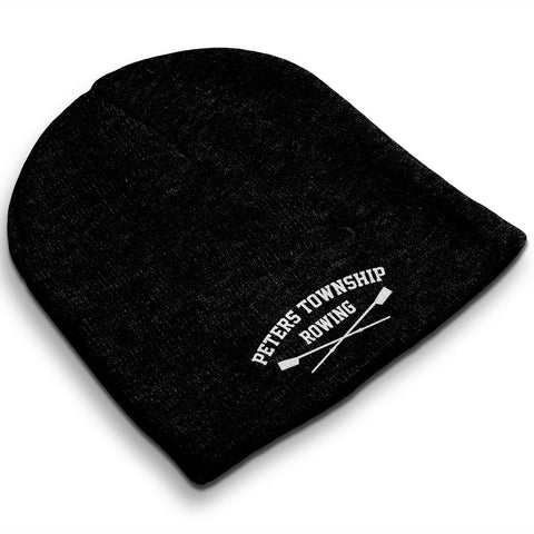 Straight Knit Peters Township Rowing Club Beanie