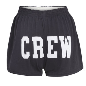 Sew Sporty Crew Butt Shorts (Black)