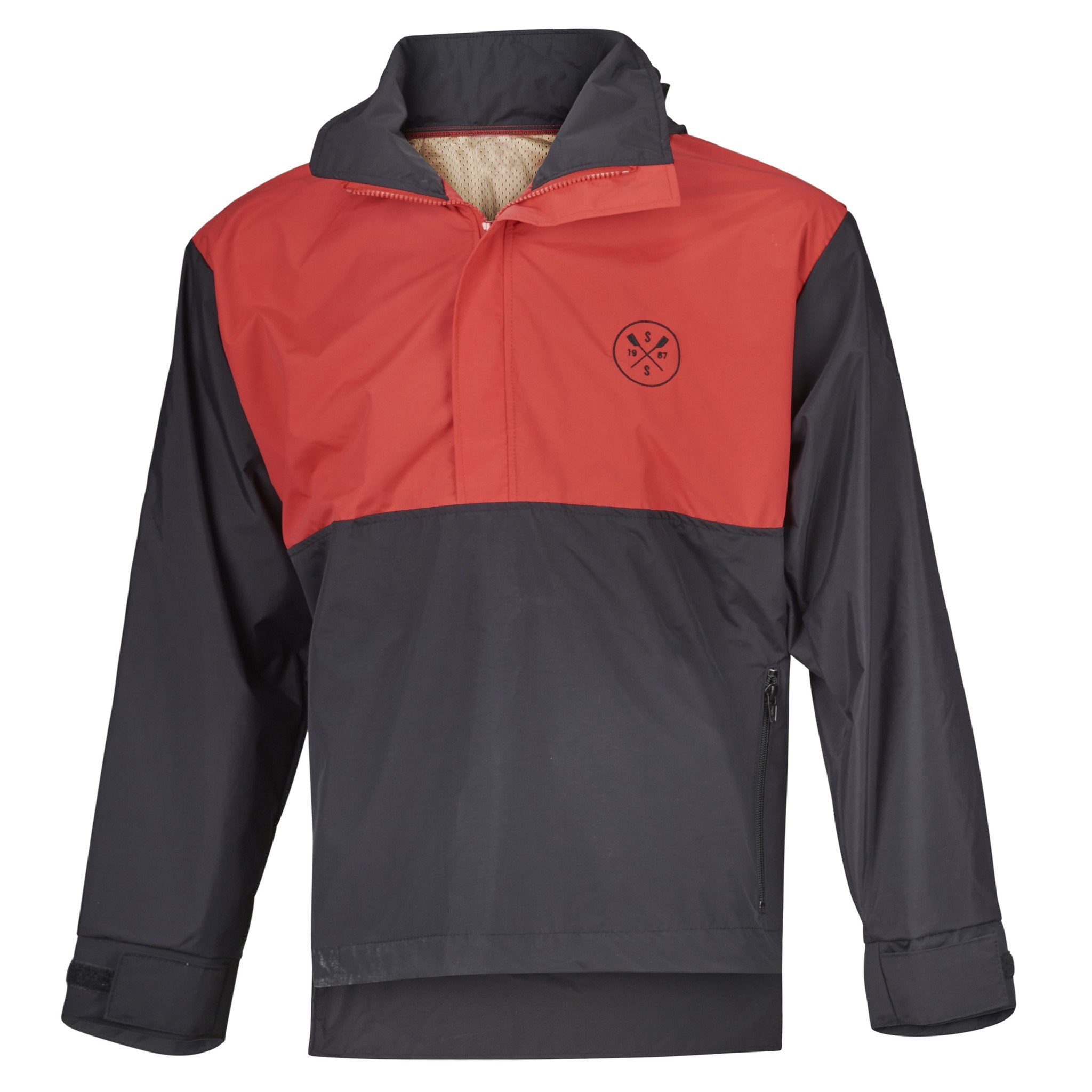 SxS Performance Jacket Hydrotex (Black/Red)
