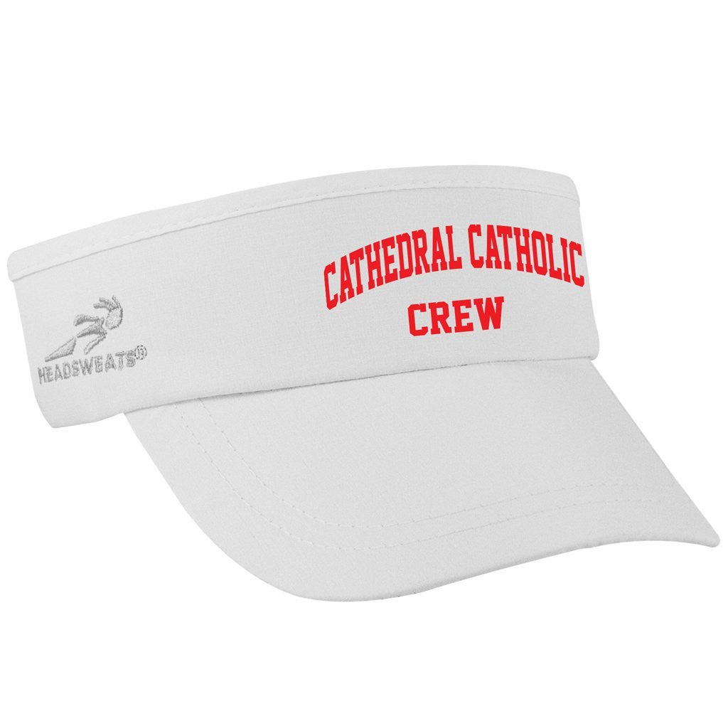 Cathedral Catholic Crew Team Competition Performance Visor