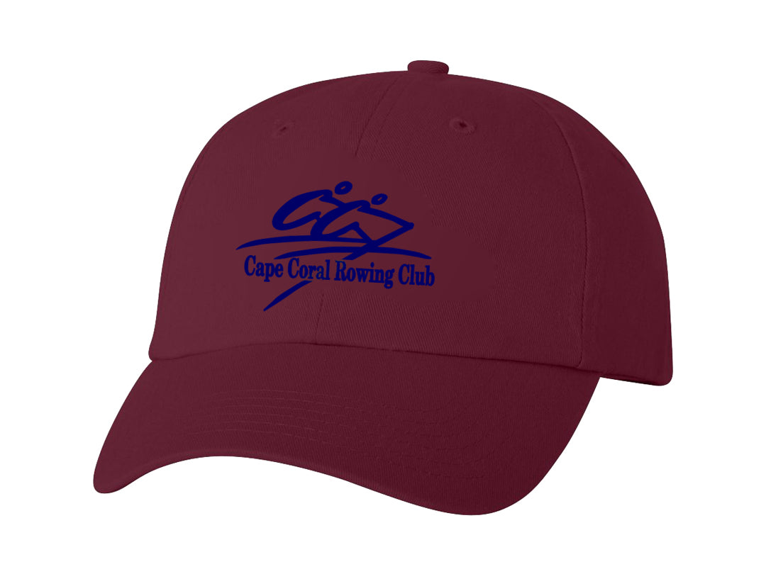 Official Caloosa Coast Rowing Club Cotton Twill Hat