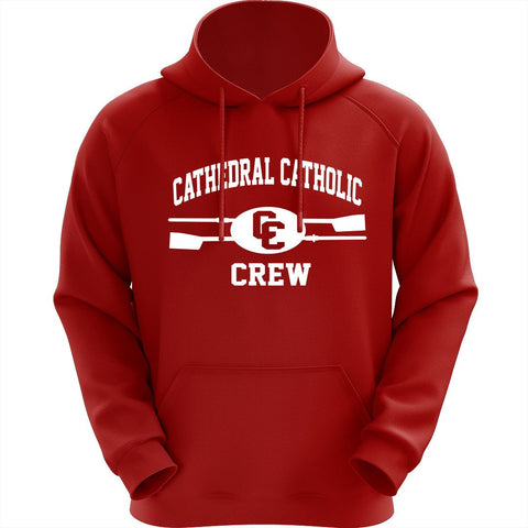 Hooded Cathedral Catholic Crew Pullover Sweatshirt