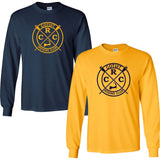 Custom Cotuit Rowing Club Long Sleeve Cotton T-Shirt