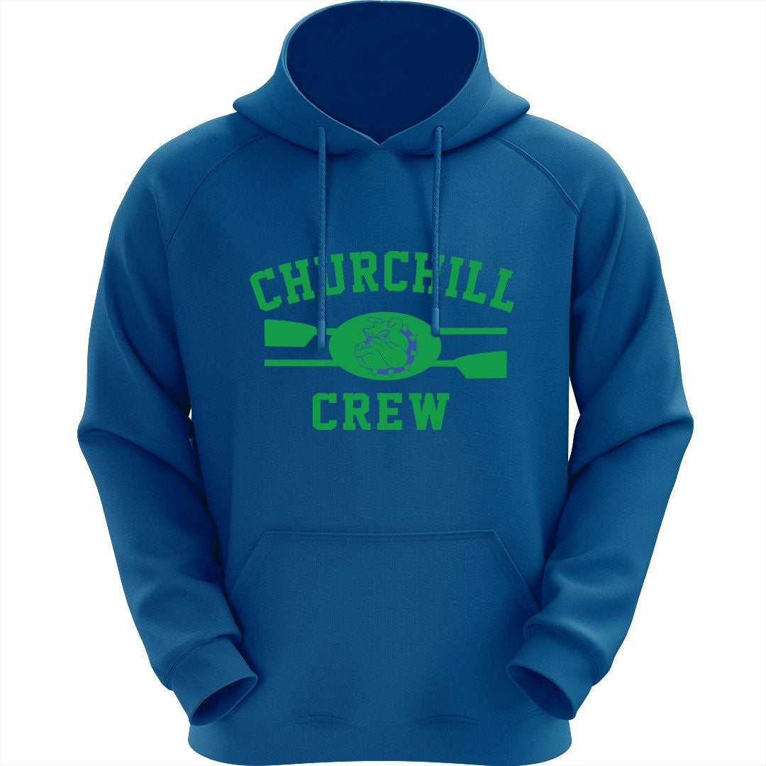 Churchill Crew Big Print Pullover Hoodie