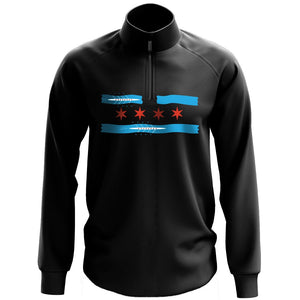 1/4 Zip CRF Chicago River Pullover