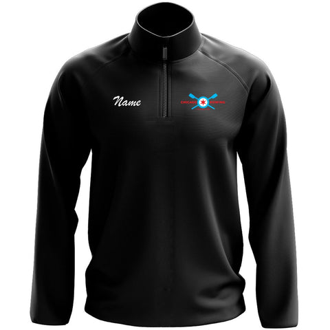 1/4 Zip Chicago Rowing Foundation Fleece Pullover