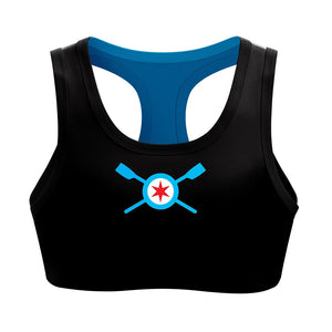 Chicago Rowing Foundation Spandex Sports Bra