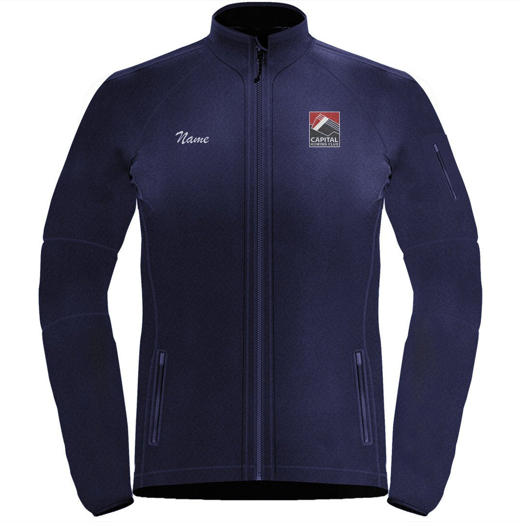 Full Zip Capital Rowing Club Fleece Pullover