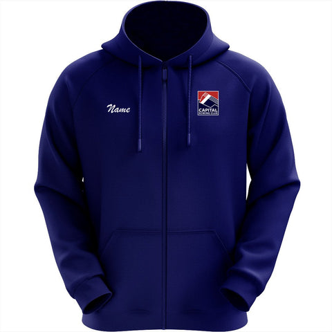 50/50 Hooded Capital Rowing Club Pullover Sweatshirt