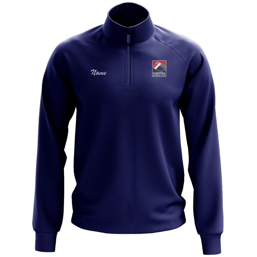 Capital Rowing Club Mens Performance Pullover