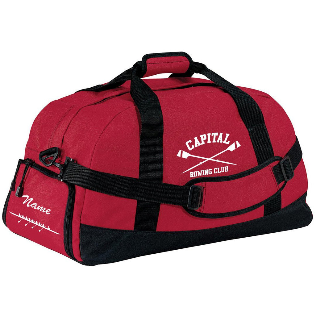 Capital Rowing Club Team Race Day Duffel Bag