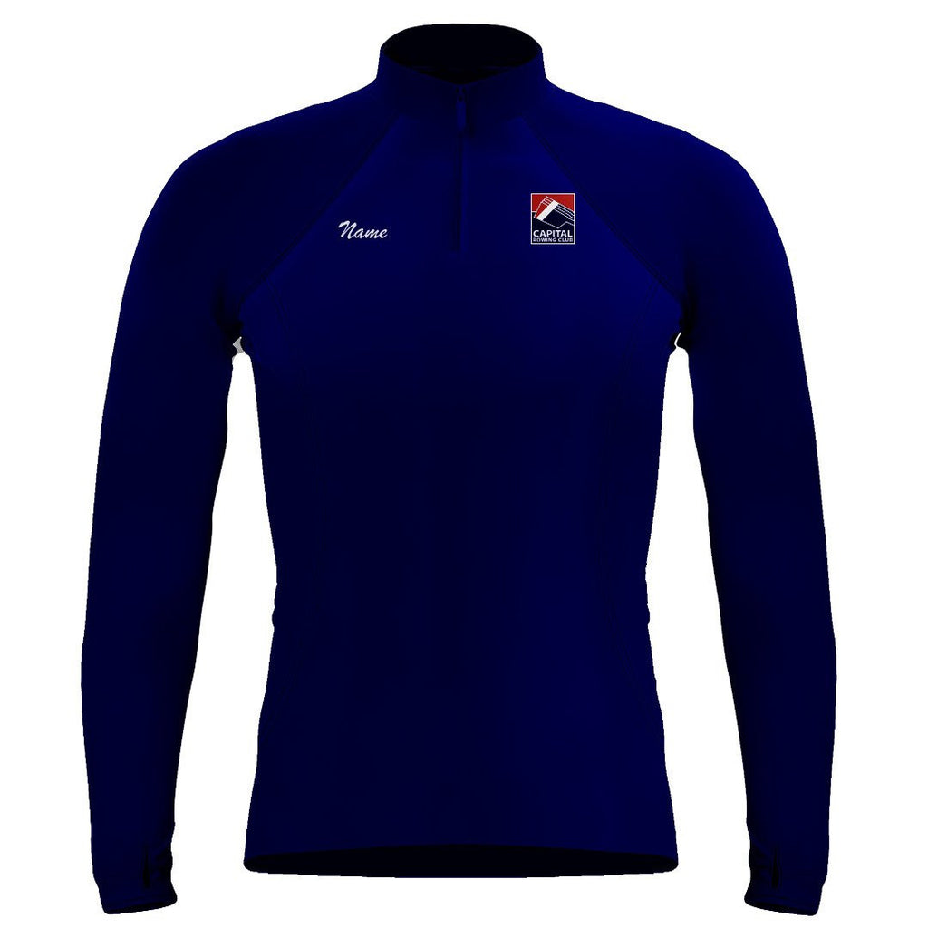 Capital Rowing Club Ladies Performance Thumbhole Pullover