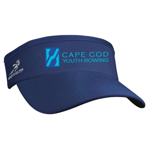 Cape Cod Youth Rowing Team Competition Performance Visor