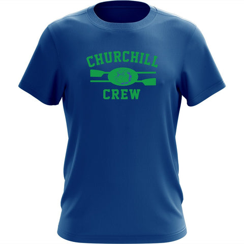 100% Cotton Churchill Crew Men's Team Spirit T-Shirt