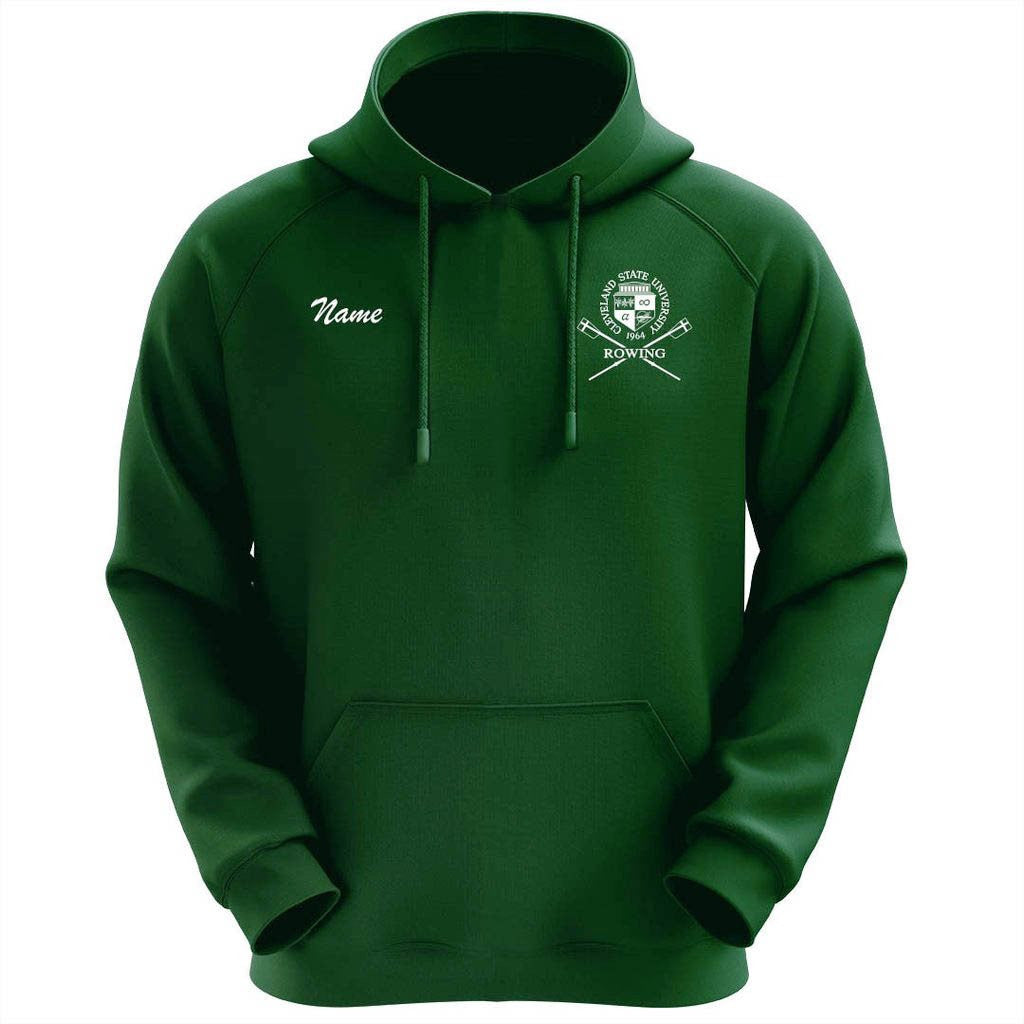 50/50 Hooded Cleveland State University Rowing Pullover Sweatshirt