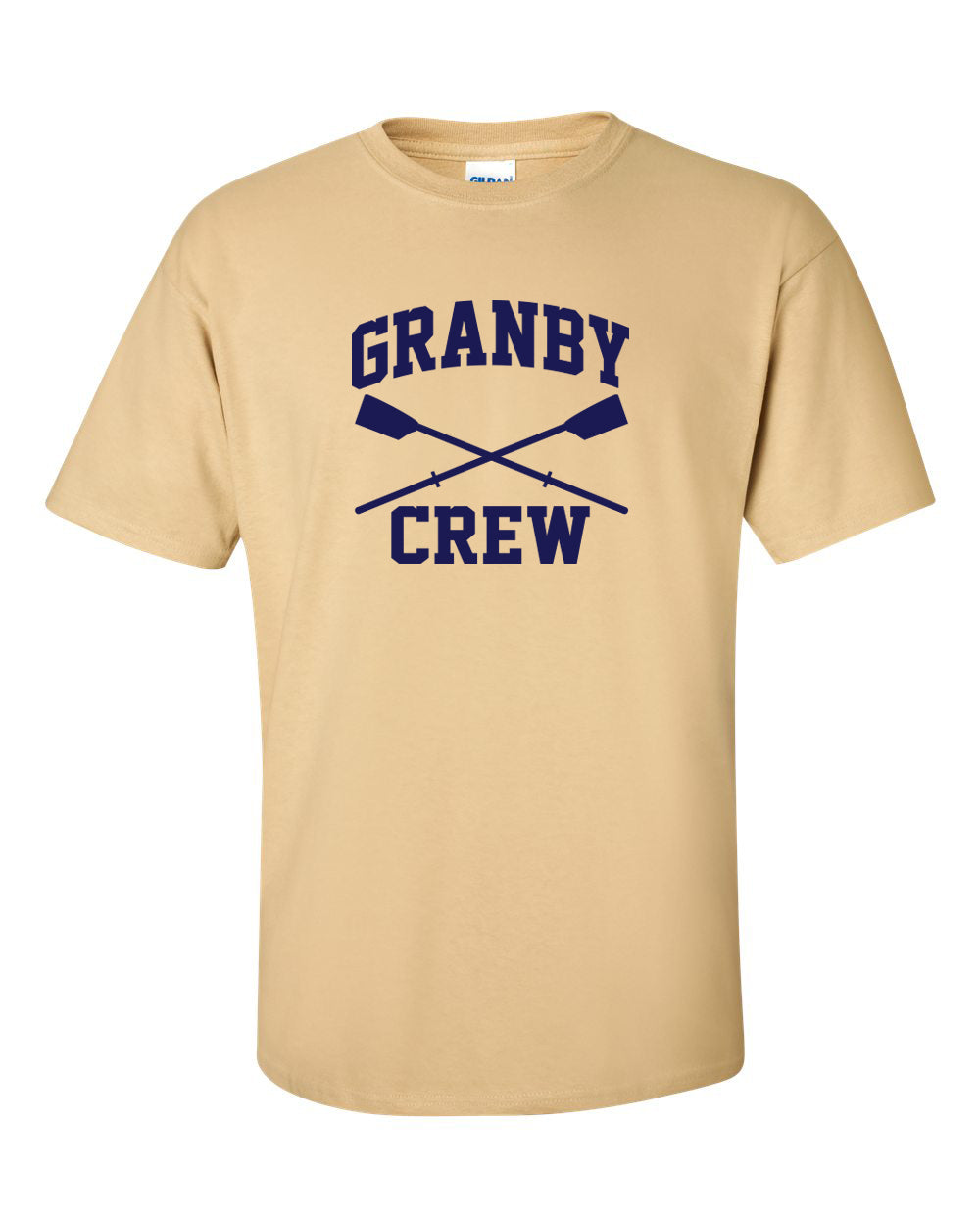 100% Cotton Granby Crew Men's Team Spirit T-Shirt