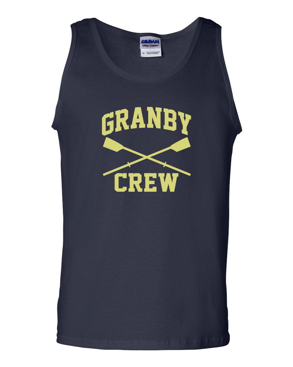 100% Cotton Granby Crew Tank Top