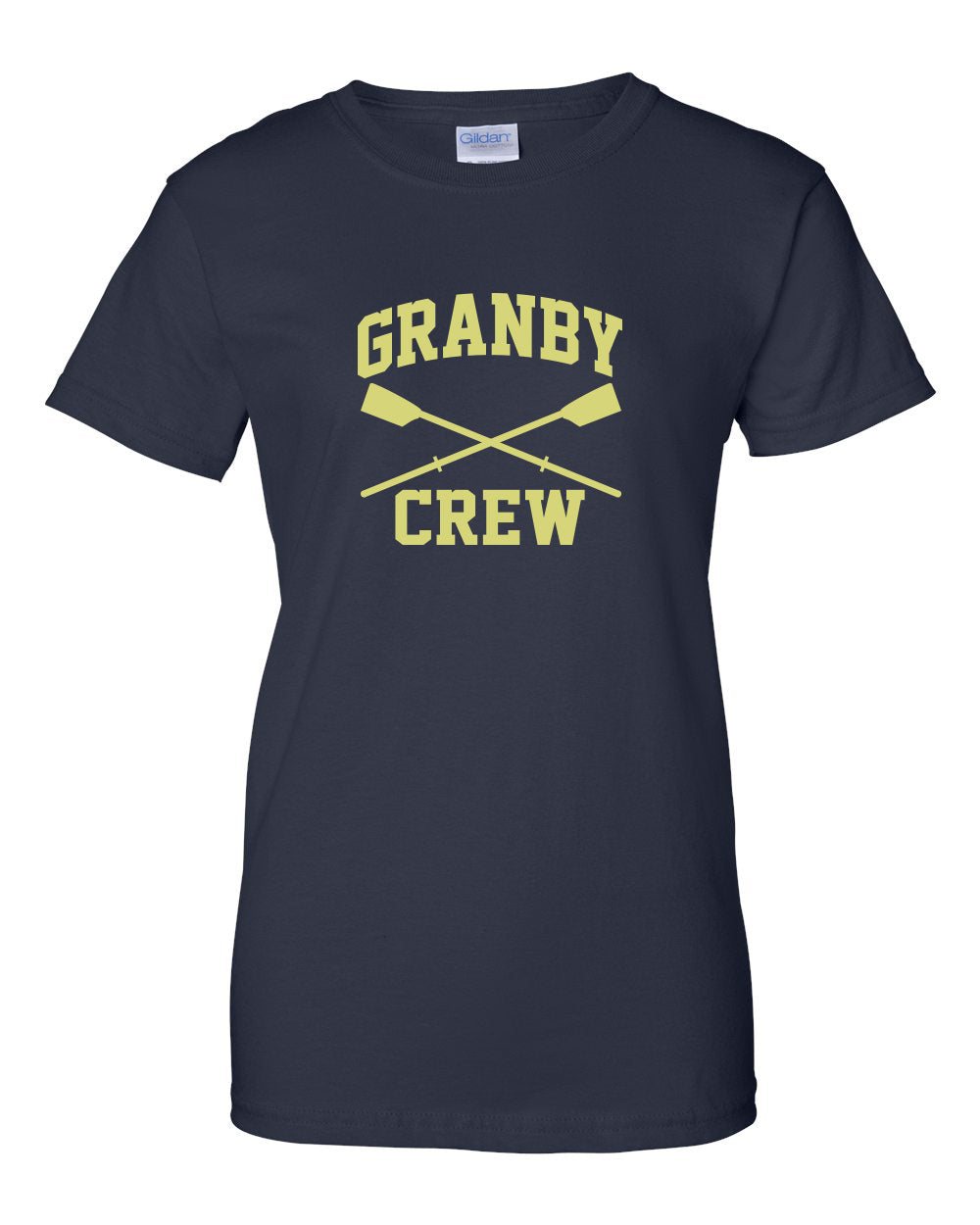 100% Cotton Granby Crew Women's Team Spirit T-Shirt
