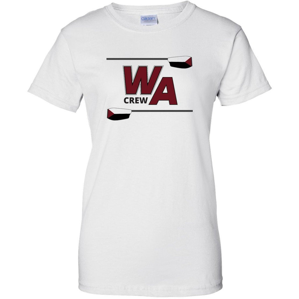 100% Cotton Westford Crew Women's Team Spirit T-Shirt