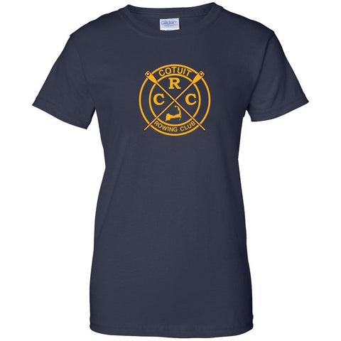 100% Cotton Cotuit Rowing Club Women's Team Spirit T-Shirt