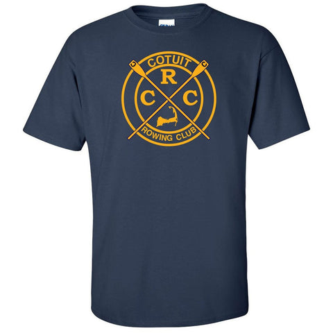 100% Cotton Cotuit Rowing Club Men's Team Spirit T-Shirt