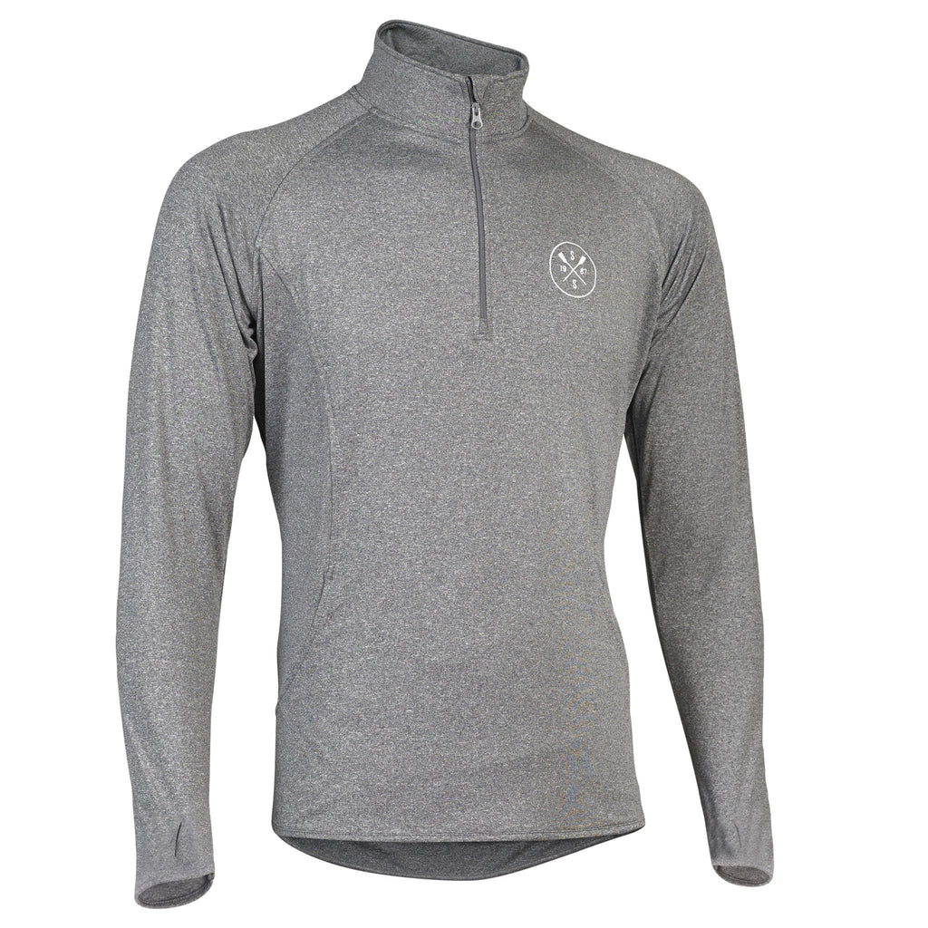 SxS Pull-Over Performance Sweatshirt (Grey)