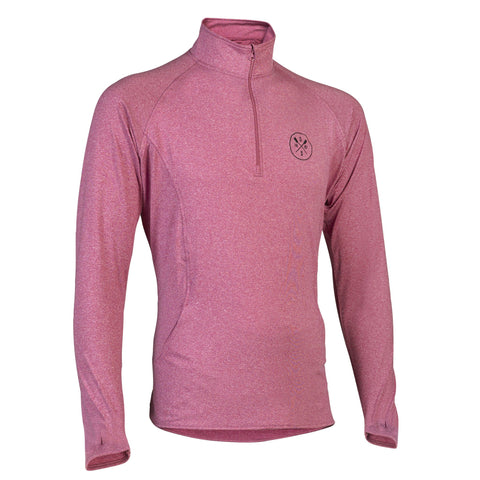 Pull-Over Performance Sweatshirt (Pink)