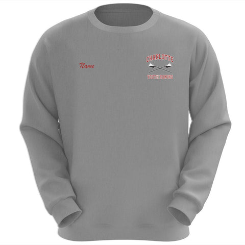 Charlotte Youth Rowing Club Crewneck Sweatshirt