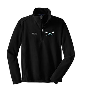 1/4 Zip DC National Rowing Club Fleece Pullover