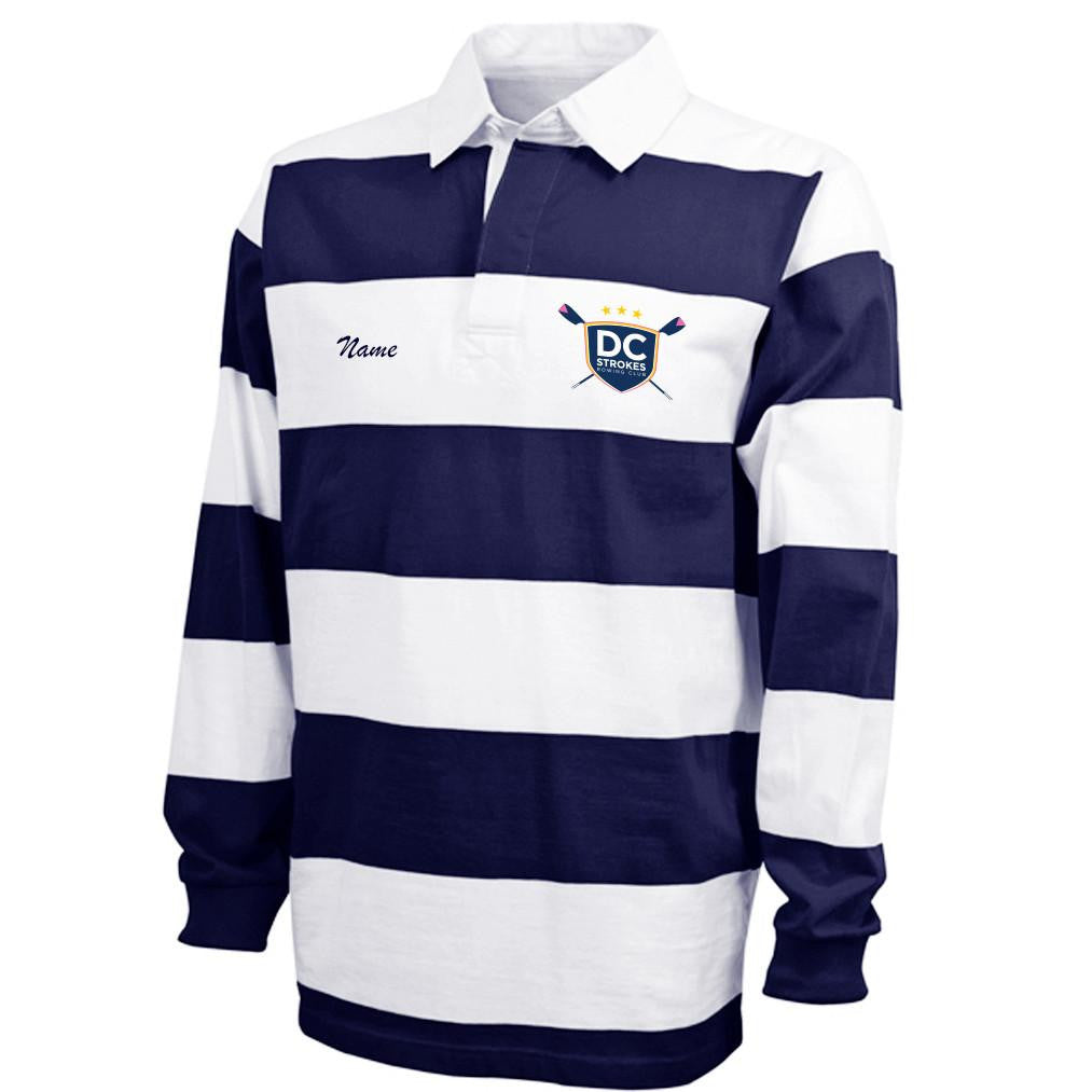 DC Strokes Rowing Club Rugby Shirt