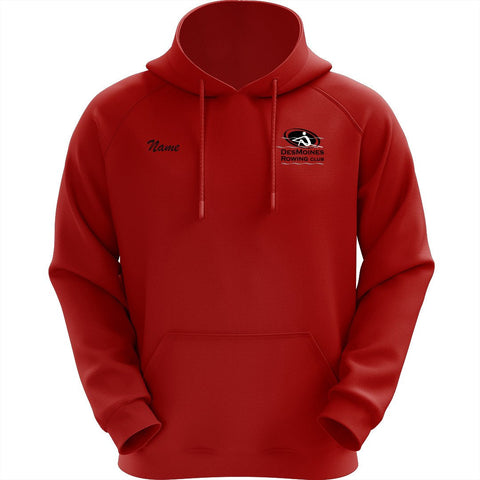 50/50 Hooded Des Moines Rowing Club  Pullover Sweatshirt