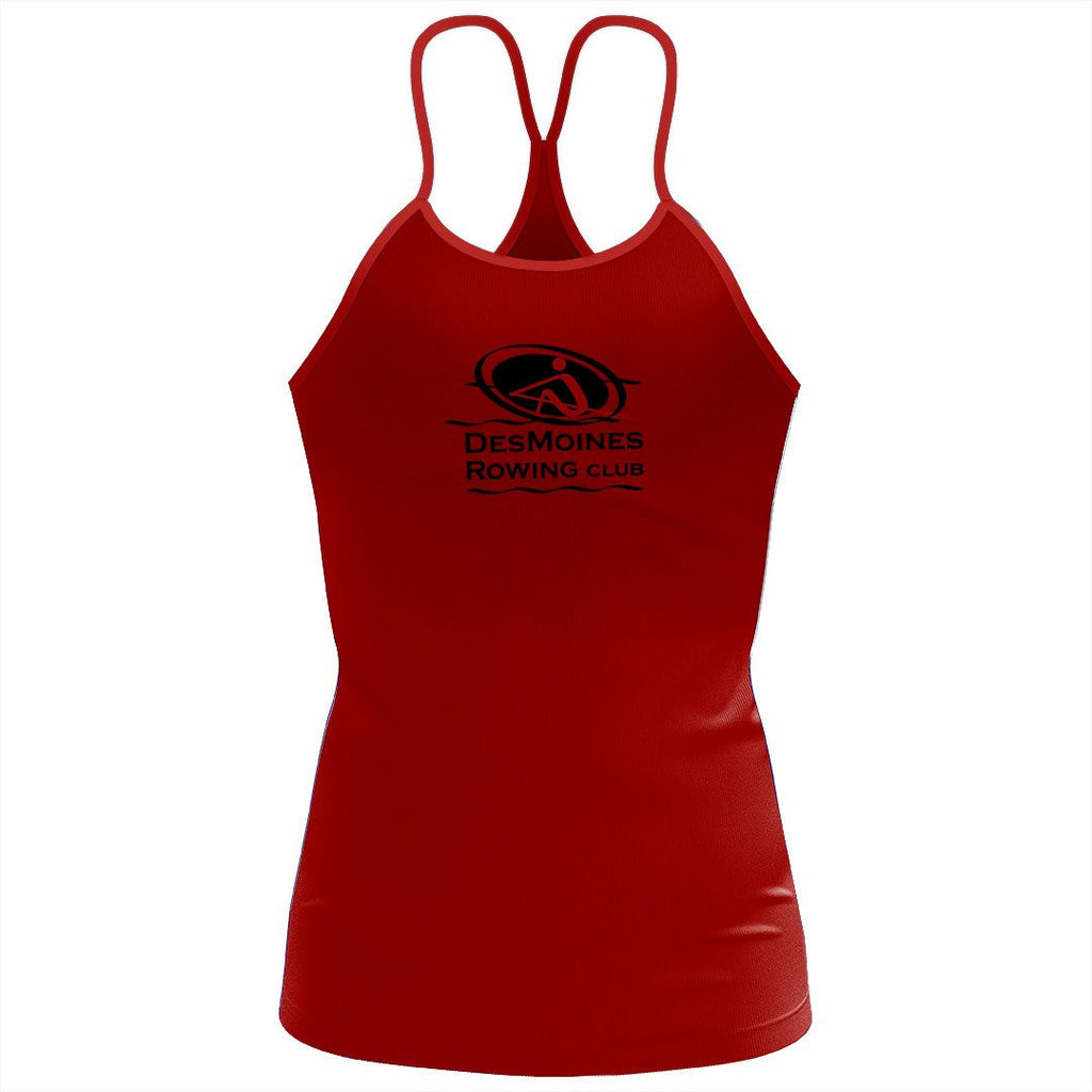Des Moines Rowing Club  Women's Sassy Strap Tank