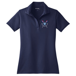 Dallas Rowing Club Juniors Embroidered Performance Ladies Polo