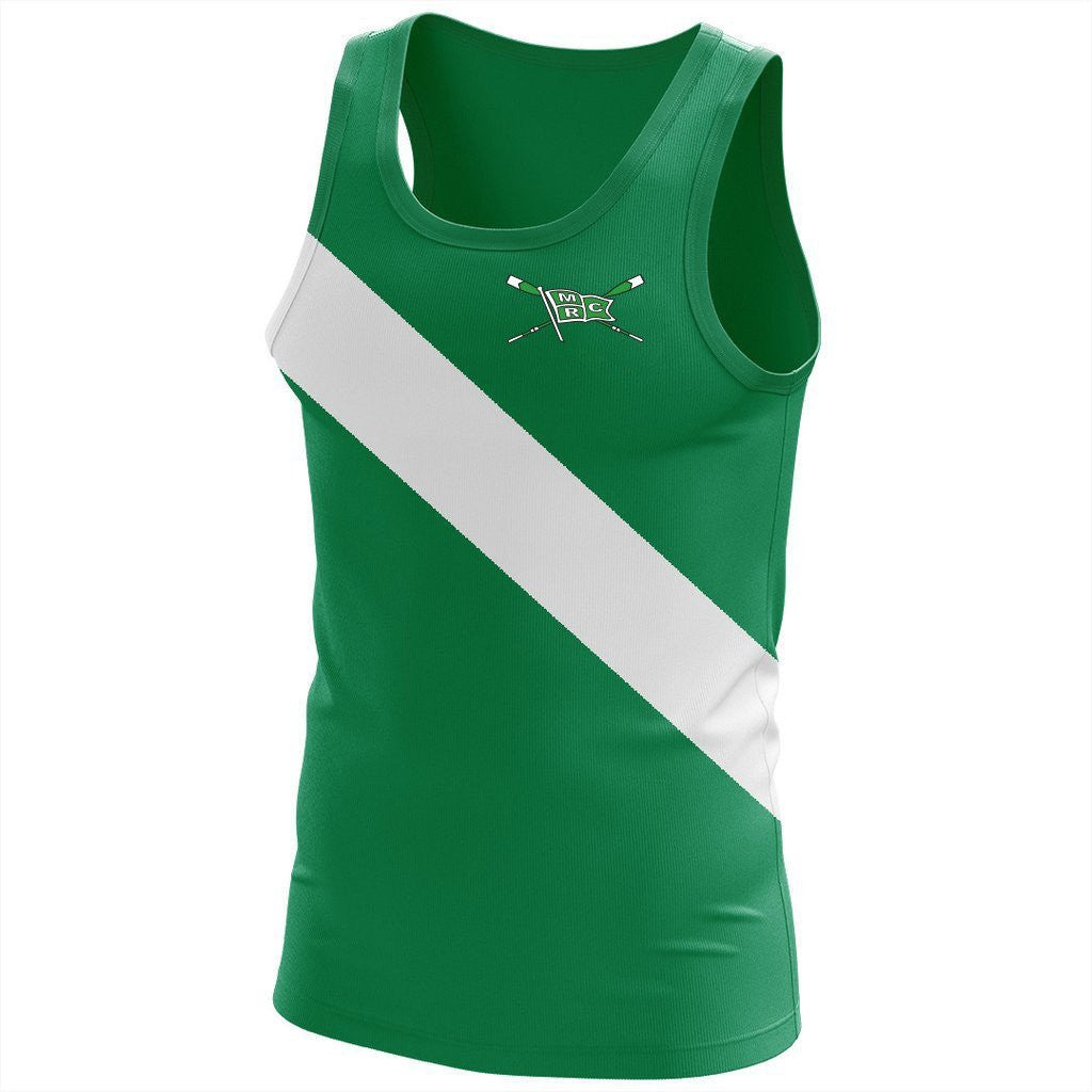 Minneapolis Rowing Club Men's DryFlex Lycra Tank (snug fit)