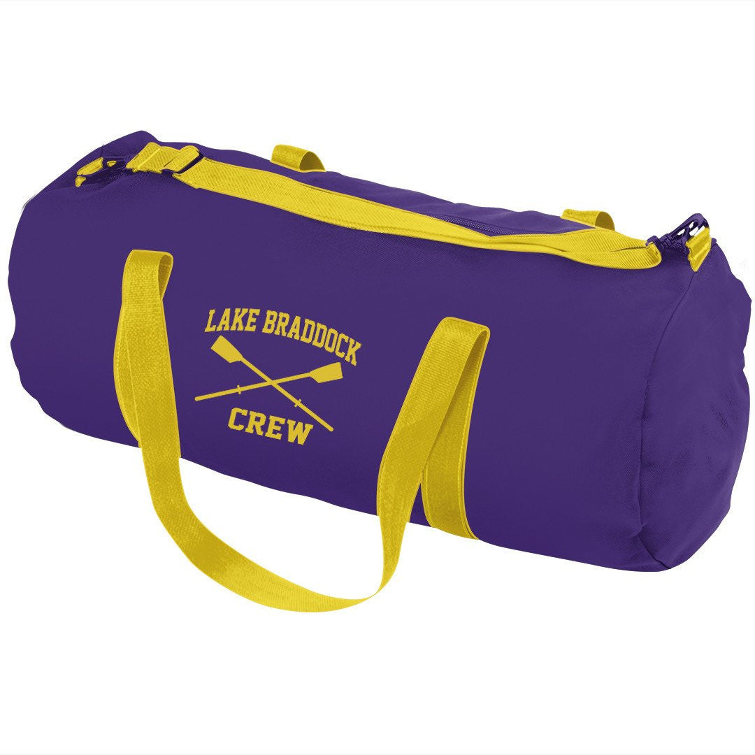 Lake Braddock Crew Team Duffel Bag (Large)