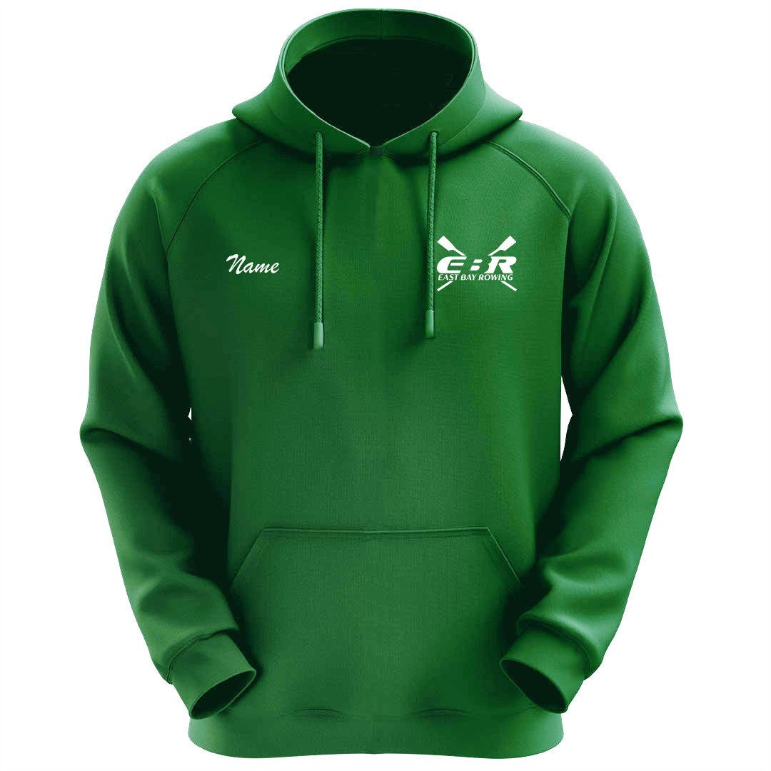 50/50 Hooded East Bay Rowing Pullover Sweatshirt - Kelly