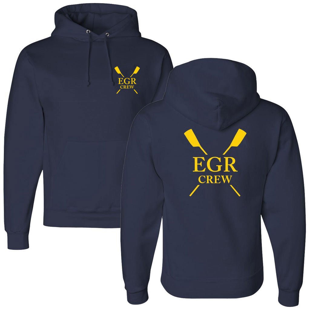 50/50 Hooded East Grand Rapids Crew Pullover Sweatshirt