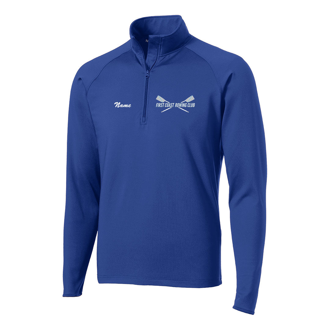 First Coast Rowing Club Mens Performance Pullover