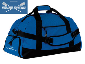 First Coast Rowing Club Team Race Day Duffel Bag
