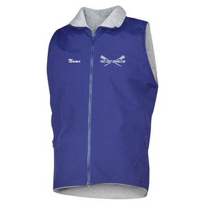 First Coast Rowing Club Team Nylon/Fleece Vest