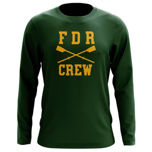 Custom FDR Crew Long Sleeve Cotton T-Shirt
