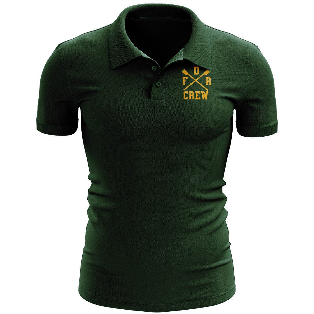 FDR Crew Embroidered Performance Men's Polo