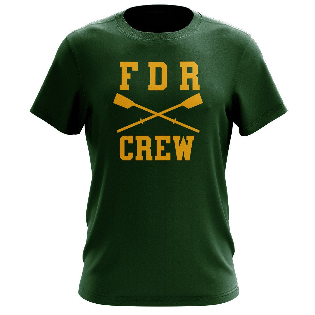 100% Cotton FDR Crew Men's Team Spirit T-Shirt