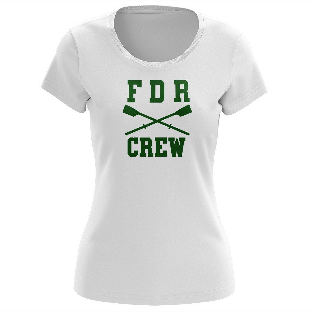 100% Cotton FDR Crew Women's Team Spirit T-Shirt