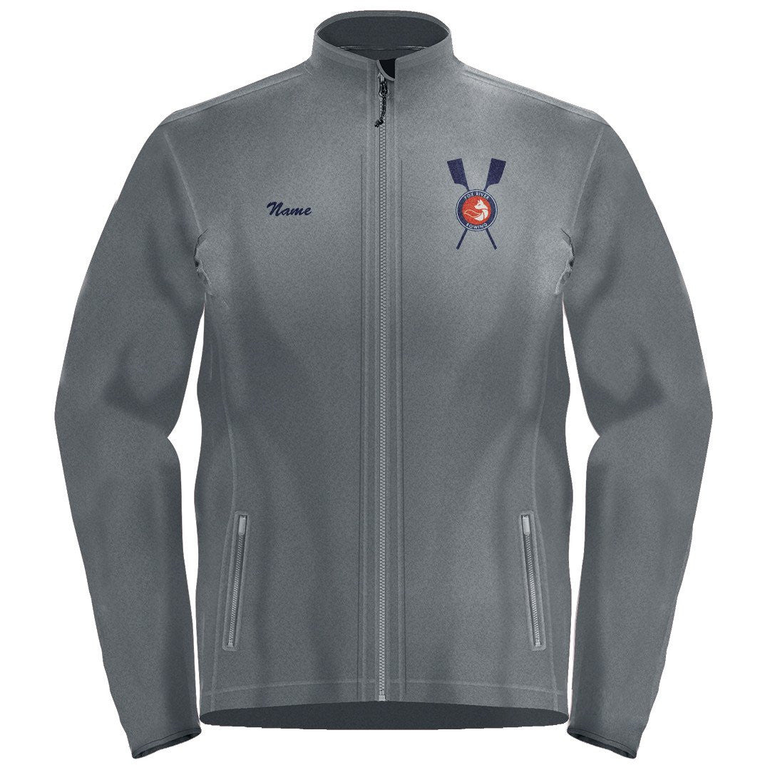 Full Zip Fox River Rowing Association Fleece Pullover